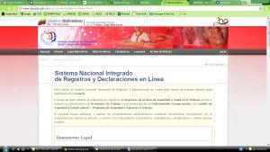 Declaración inmediata de accidentes por INPSASEL en línea