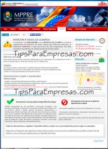 Cómo solicitar cita ante el Ministerio de Relaciones Exteriores en Venezuela