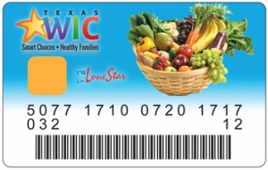 texas wic card