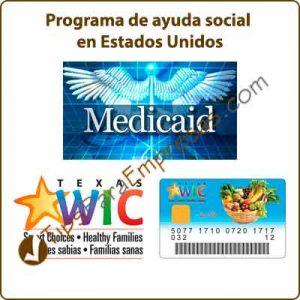 Programa de ayuda social en Estados Unidos
