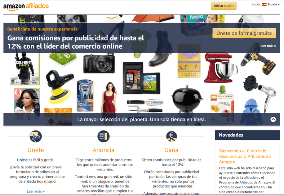 Amazon Afiliado enlaces manuales Tutorial