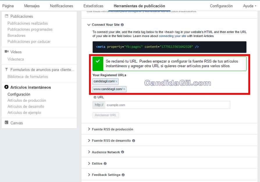 Monetizacion de pagina web con Facebook