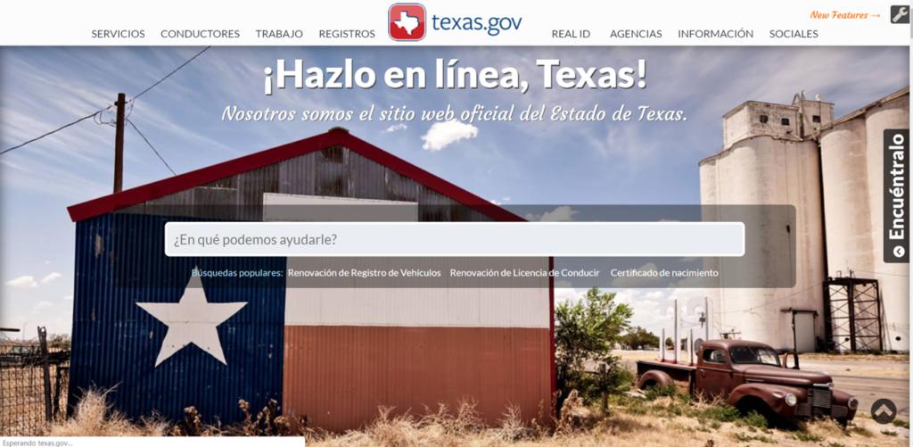 Pasos para solicitar el Acta de Nacimiento en Texas