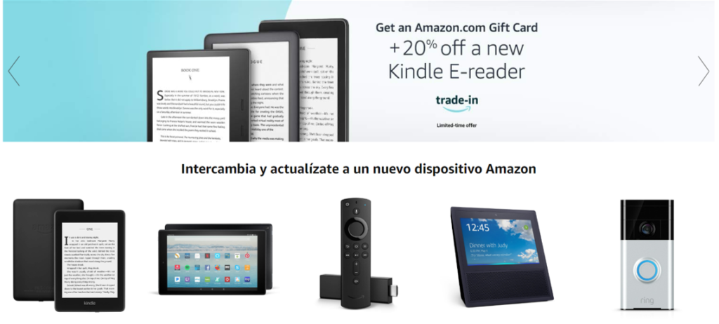 Amazon trade in Tips para empresas